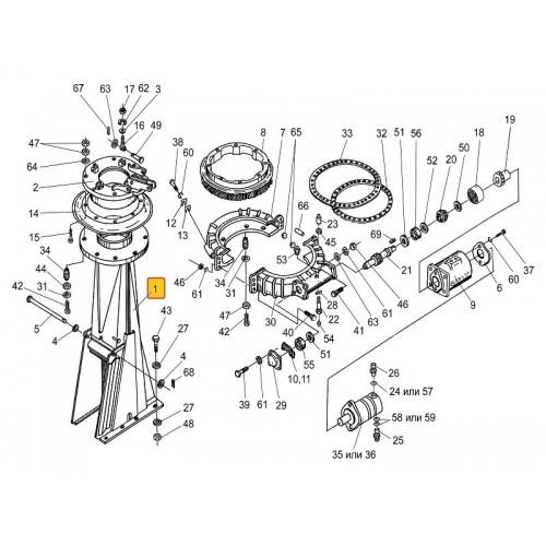 Основание силосопровода (основа) ПКК 0104040