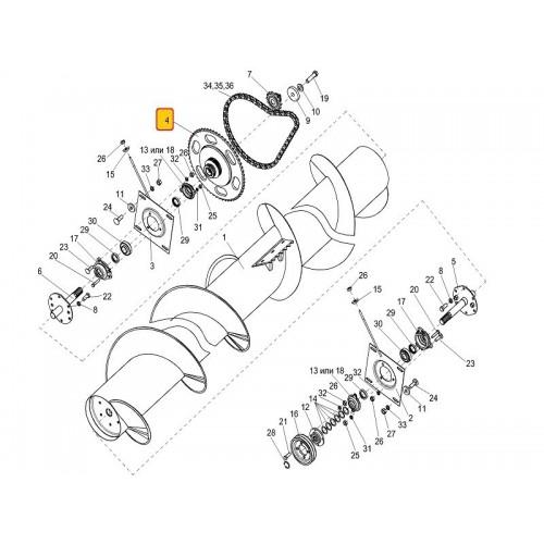 Муфта фрикционная КИС 0202090А-01