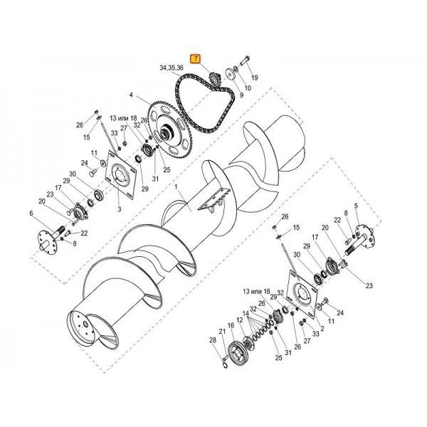 Вал карданный КК 10.040.3000-063/101