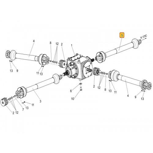 Вал карданный КПР 9120300