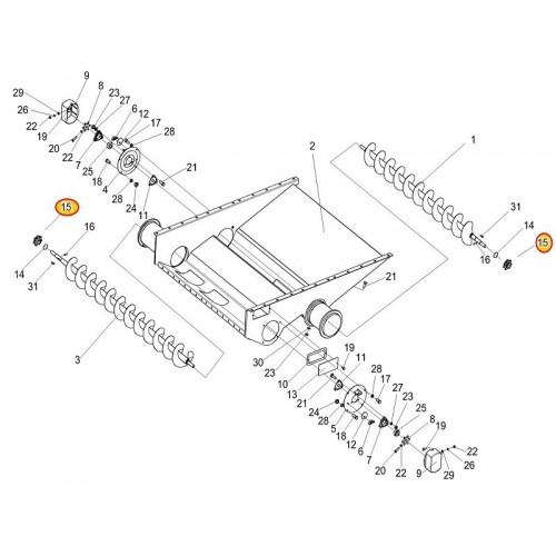 Звездочка КЗК-10-0218611