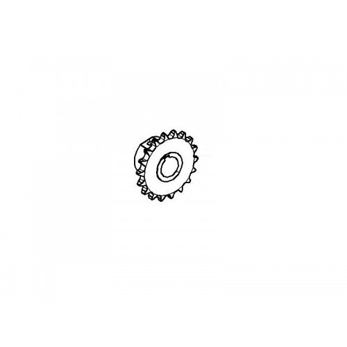 Звездочка (привода битера от гидромотора) КПК 0103350