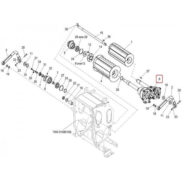 Сепаратор (большой) МКС 0130426
