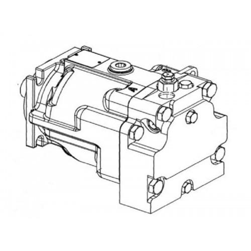 Гидромотор привода питающего аппарата